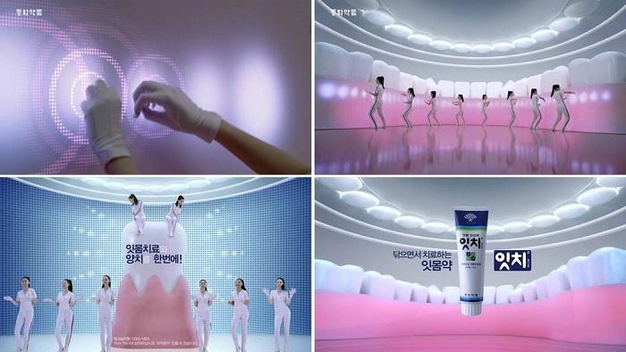 동화약품 잇치 TV 광고